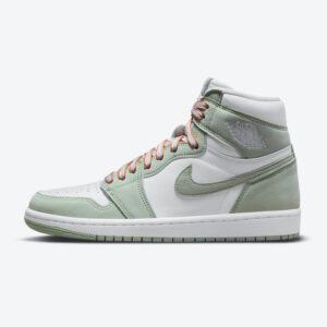 ナイキ エア ジョーダン 1 シーフォーム ウィメンズ Nike-Air-Jordan-1-Seafoam-WMNS-CD0461-002-side-official