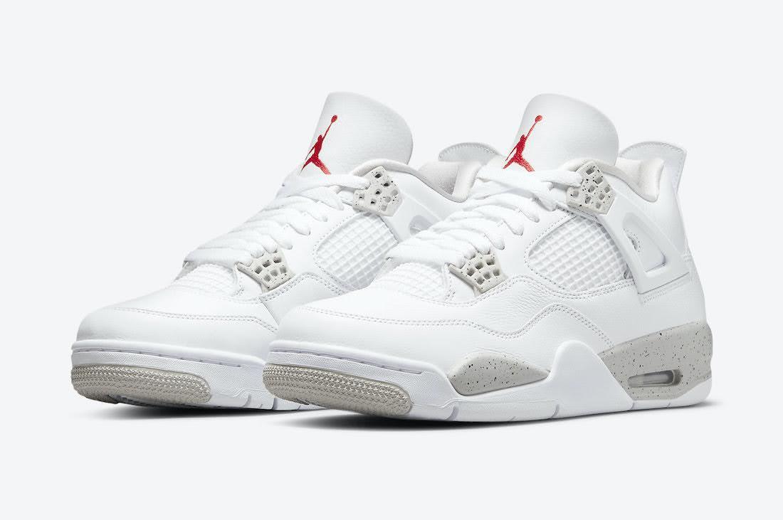 """ナイキ エア ジョーダン 4 """"ホワイト オレオ"""" Nike-Air-Jordan-4-White-Oreo-CT8527-100-pair"""