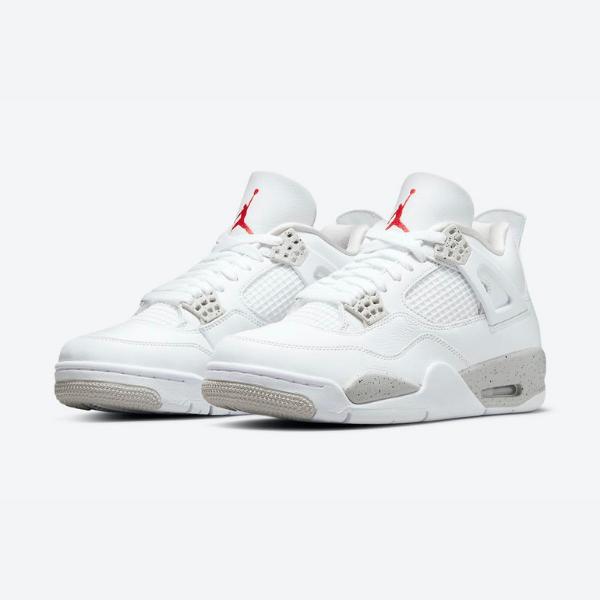 """7月28日,9月19日発売【Nike Air Jordan 4 """"Tech White""""】**メンズ展開のみ"""