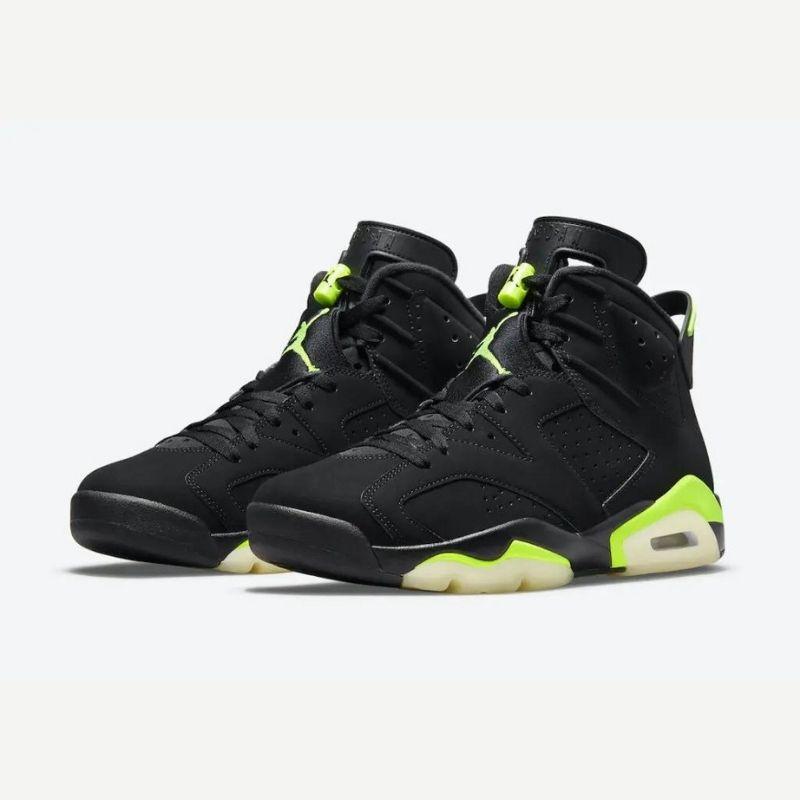 """6月23日海外発売【Nike Air Jordan 6 """"Electric Green""""】"""