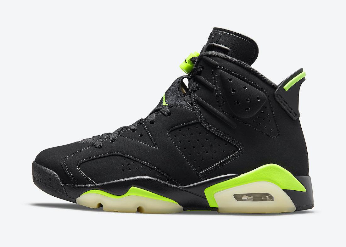 """ナイキ エア ジョーダン 6 """"エレクトリック グリーン"""" Nike-Air-Jordan-6-Electric-Green-CT8529-003-side"""