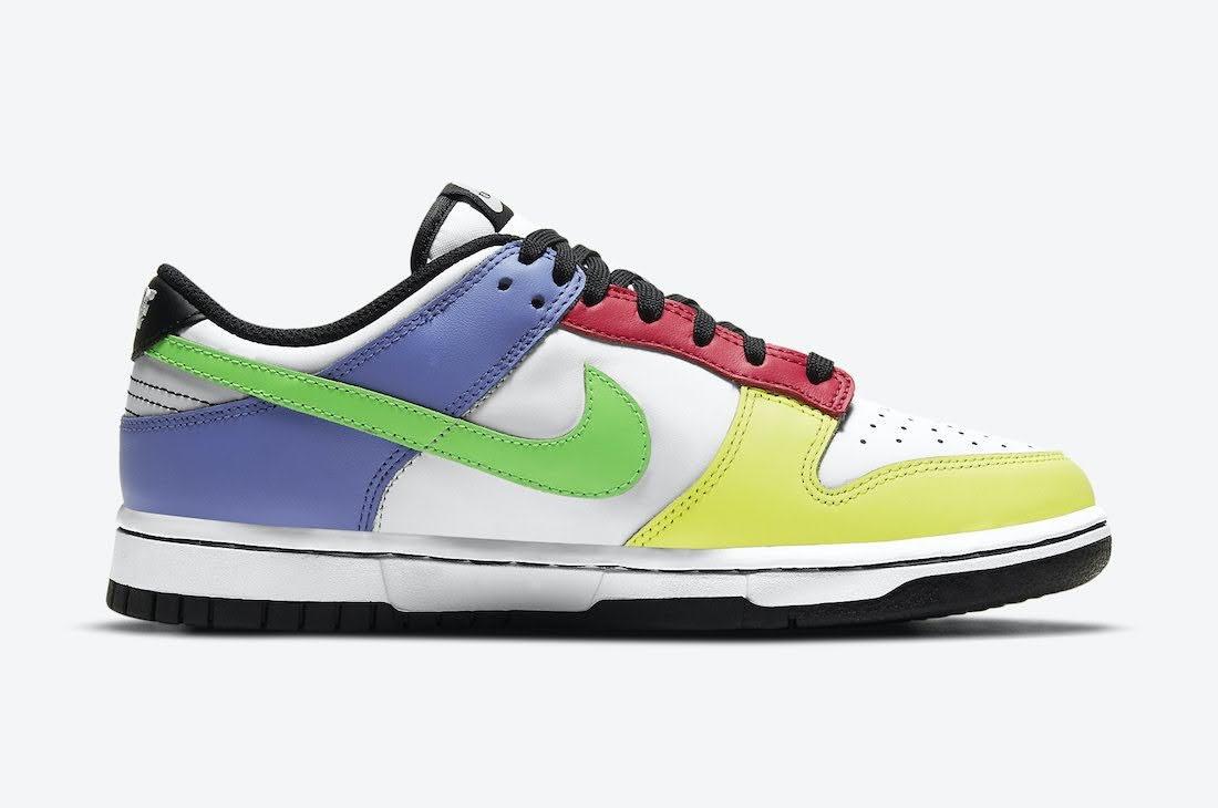 """ナイキ ウィメンズ ダンク ロー """"マルチカラー"""" Nike-Dunk-Low-Multi-Color-DD1503-106-side-2"""