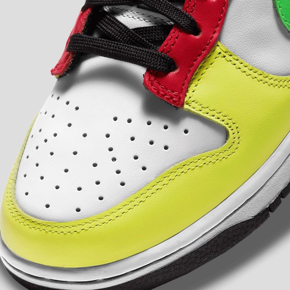 """ナイキ ウィメンズ ダンク ロー """"マルチカラー"""" Nike-Dunk-Low-Multi-Color-DD1503-106-toe"""