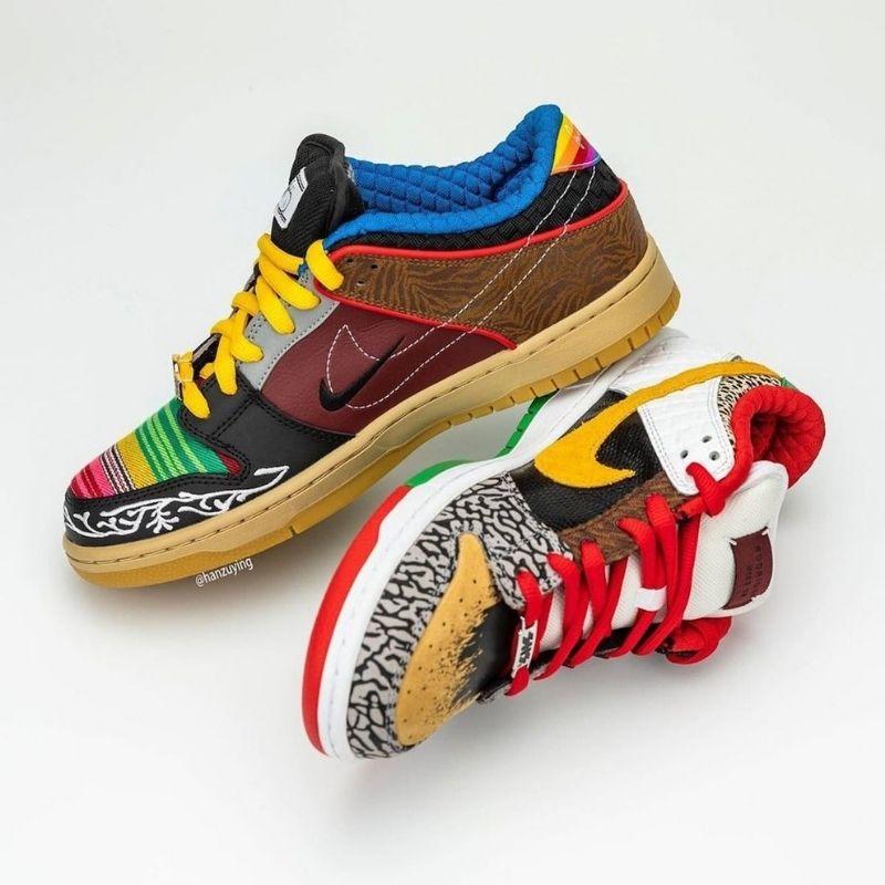 """5月22日/24日発売【Nike SB Dunk Low """"What The P-Rod""""】"""