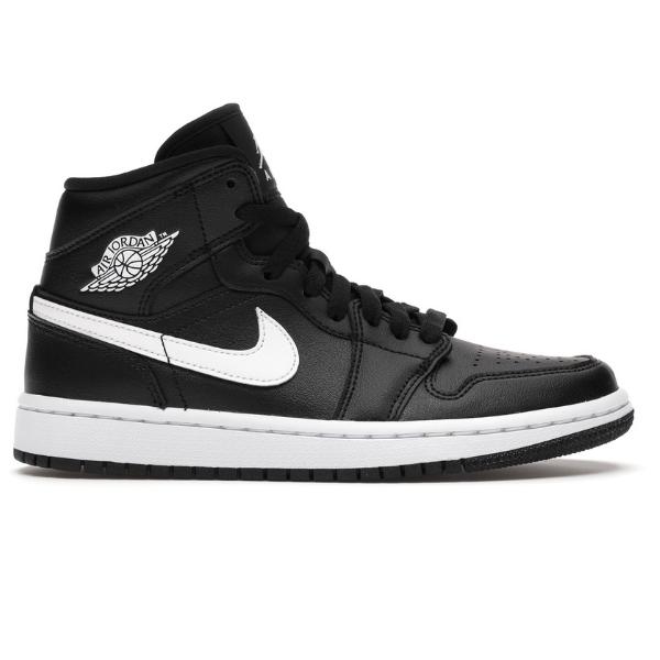 Nike WMNS Air Jordan 1 MID Black White