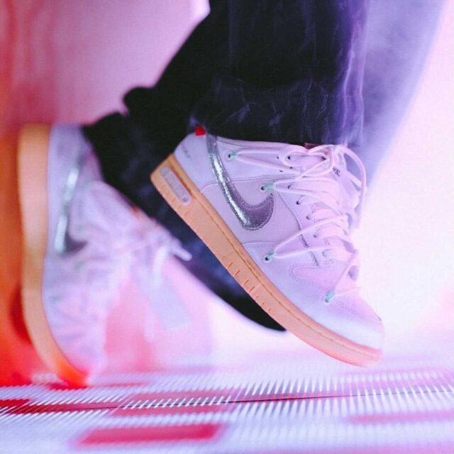 オフホワイト ナイキ ダンク ロー ロット 1 オフィシャル Off-White-Nike-Dunk-Low-Lot-1-image-official