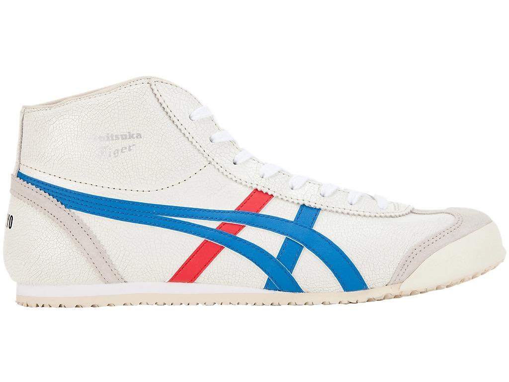 オニツカタイガー メキシコ ミッド ブルー ホワイト Onitsuka Tiger MEXICO Mid Runner hi top sneakers blue white