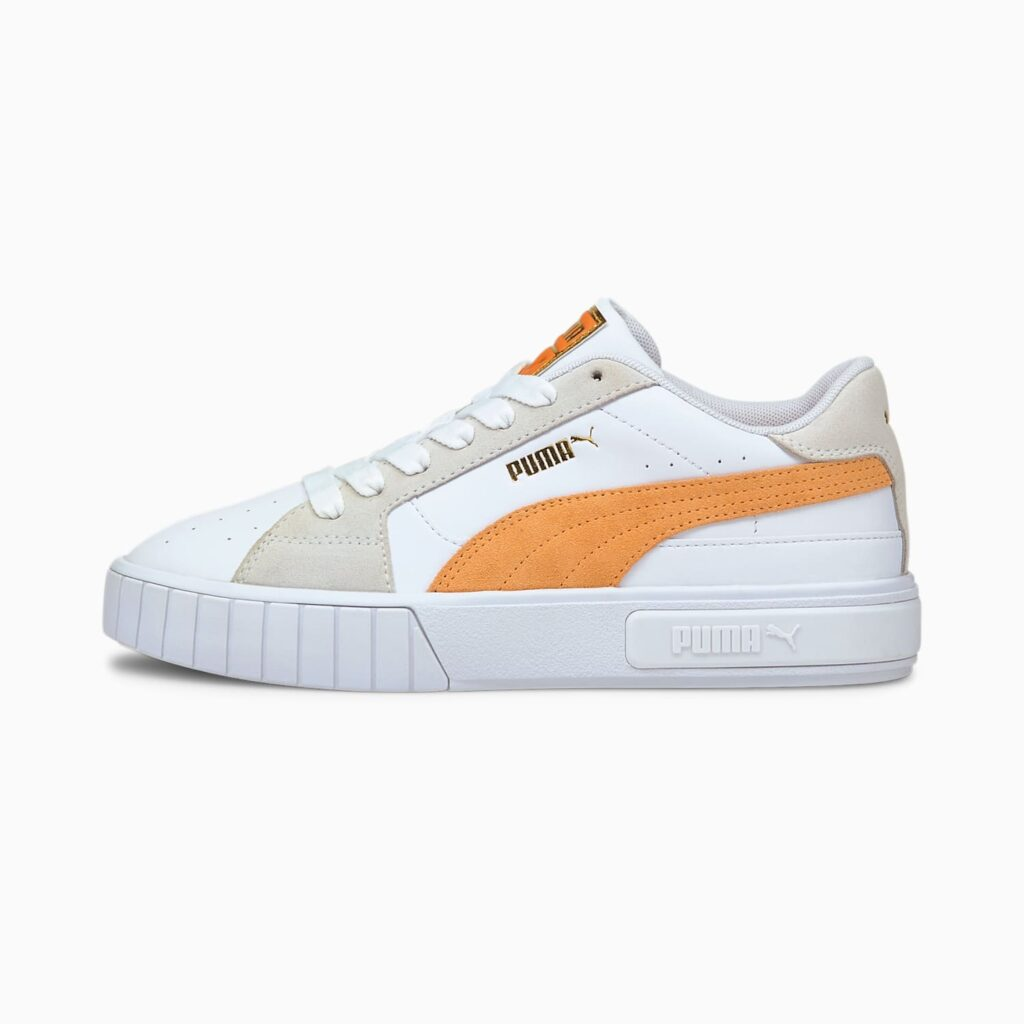 プーマ カリ スター ミックス オレンジ ホワイト Puma Cali Star Mix Orange White