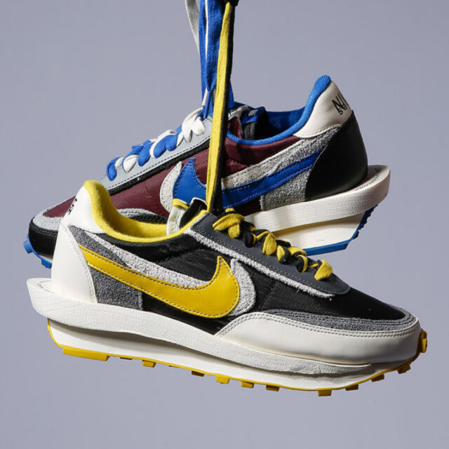 サカイ アンダーカバー ナイキ コラボ LD ワッフル Sacai Undercover Nike LDWaffle Blue Yellow