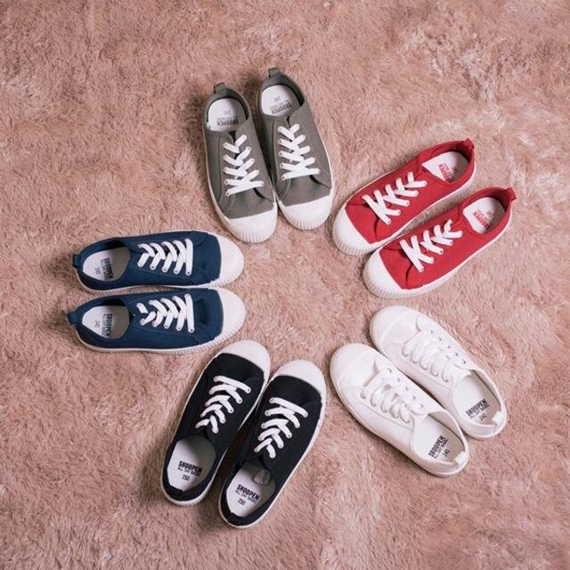 SHOOPEN ニュー マカロン スニーカー プチプラ new macaroon AFHG18S05 Sneakers