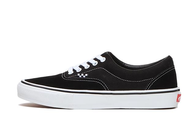 ヴァンズ エラ ブラック スニーカー Vans Era Black Sneaker