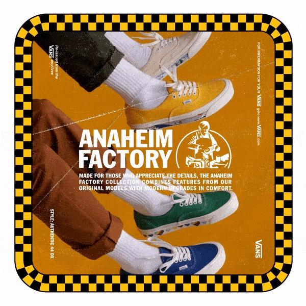 """ヴァンズ オーセンティック 44 DX アナハイム ファクトリー コレクション """"サイドウォール プリント"""" 全4色 Vans_Anaheim_Factory_Authentic_44DX_eyecatch"""