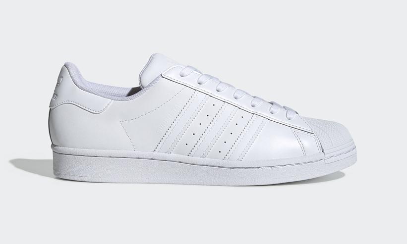 白 スニーカー アディダス スーパースター ホワイト レディース おすすめ 人気 adidas Superstar White Sneakers