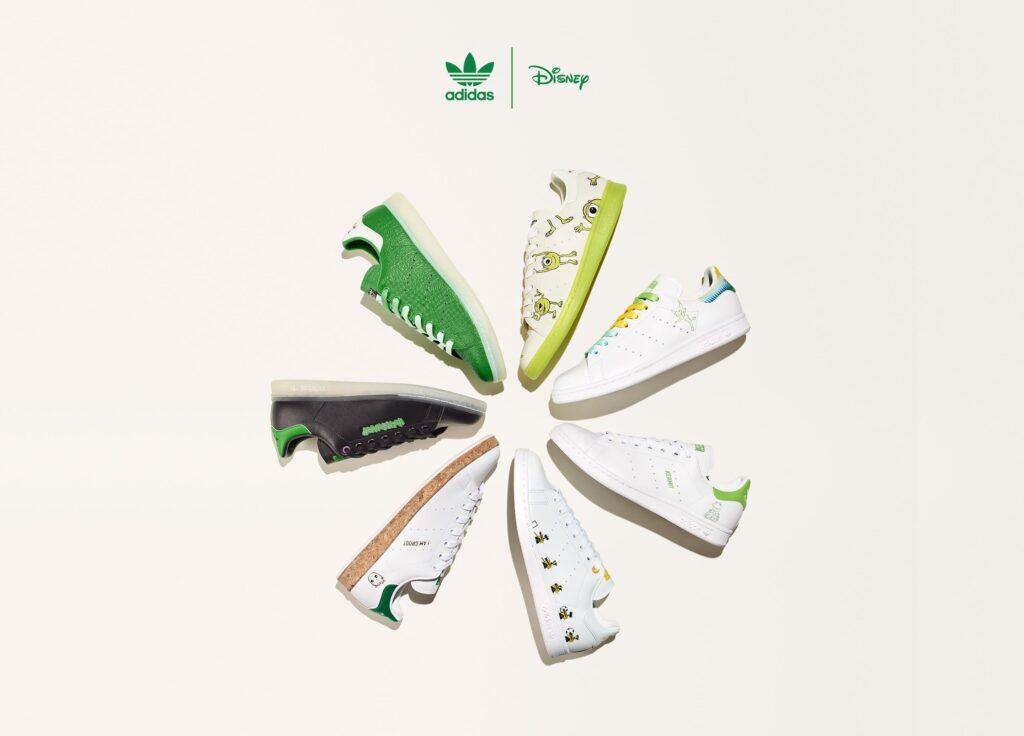 4月4日/8日発売【adidas × Disney & Kermit & MARVEL】