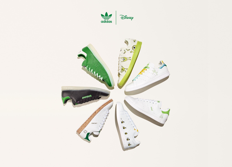 アディダス × ディズニー & カーミット & マーヴェル スタンスミス adidas-disney-kermit-marvel-stan-smith-main