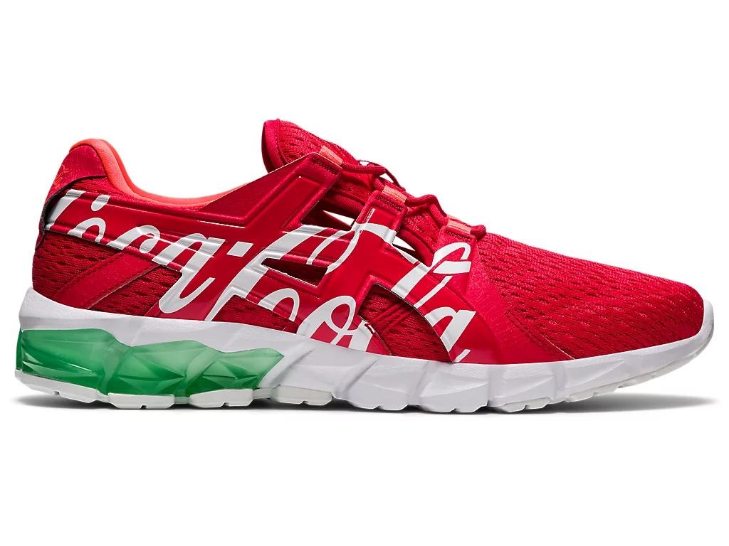 コカ コーラ × アシックス ゲル クォンタム 90 (コークレッド/ ホワイト) asics-coca-cola-gel-quantum-90-red-1023A062-600-side