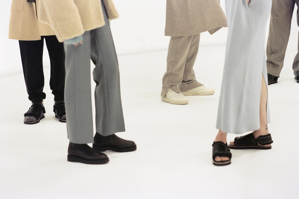 オーラリー ニューバランス 550 コラボレーション スニーカー auralee-new-balance-550-sneaker-collaboration-japan-colorway-fall-winter-2021 official