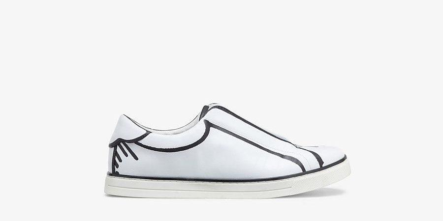 FENDI ジョシュア・ヴィーダス ナッパレザー スリッポン high-brand-sneakers-recommended-fendi