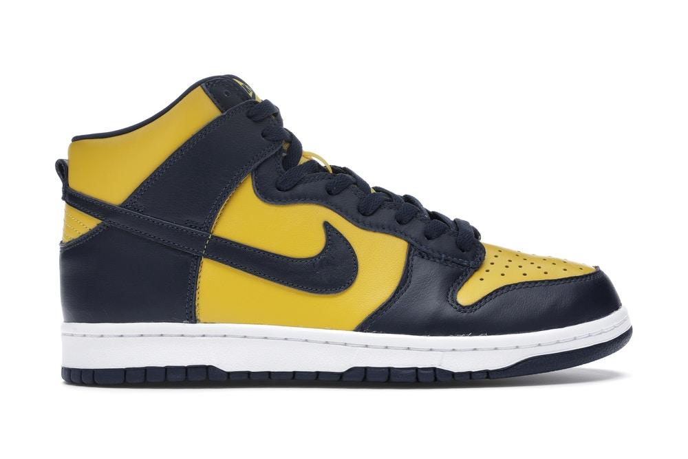 "Nike ダンク Hi ""ミシガン"" high-cut-sneaker-ladies-style-Nike-Dunk-High-Michigan"
