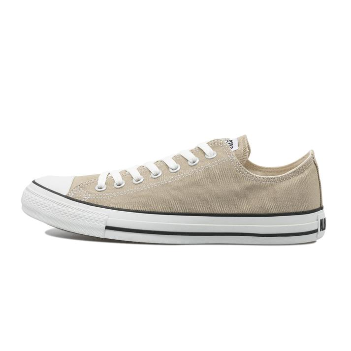 CONVERSE キャンバス オールスター カラーズ OX ladies-beige-sneakers-styles-convers-canvas-all-star