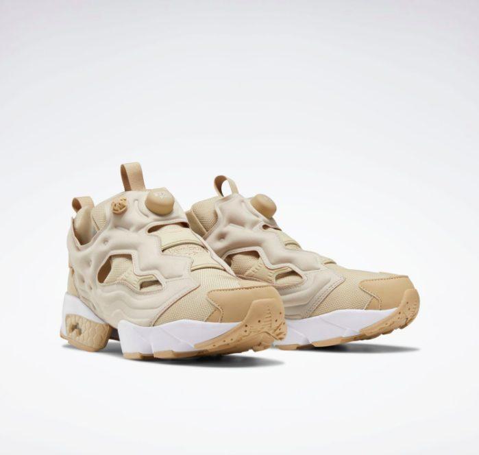 Reebok インスタポンプ フューリー ladies-beige-sneakers-styles-instapump-fury
