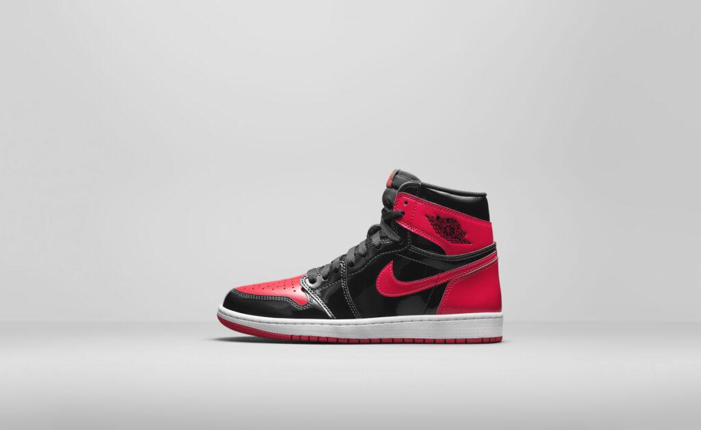 """10月23日発売【Nike Air Jordan 1 High OG """"Patent Bred""""】"""
