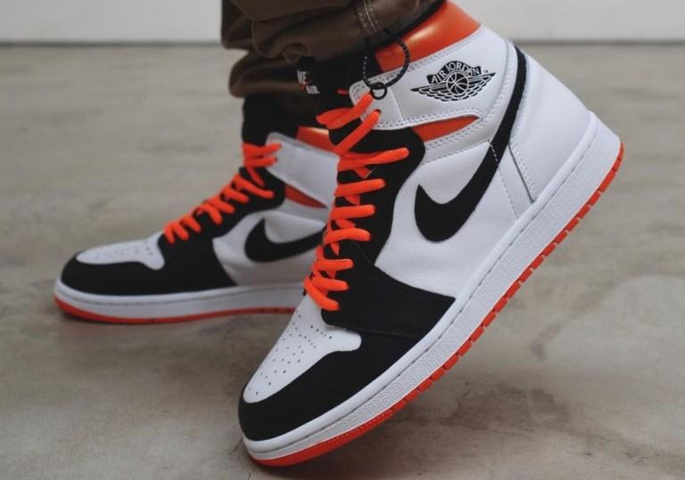 """7月17日, 26日発売【Nike Air Jordan 1 High OG """"Electro Orange""""】GSサイズもあり!"""