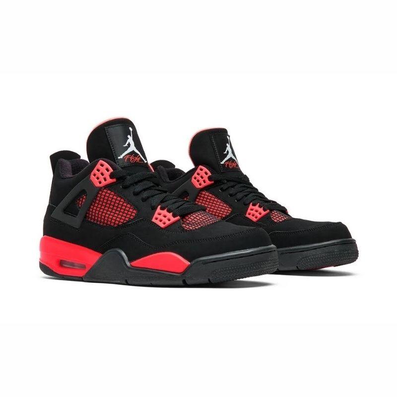 """2021年発売【Nike Air Jordan Retro 4 """"Red Thunder""""】"""