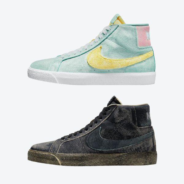 """4月5日発売【Nike SB Blazer Mid """"Faded"""" 2 Colors】"""