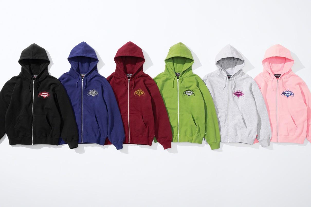 supreme 2021ss シュプリーム 2021春夏 week4 ヒステリックグラマー Supreme®/HYSTERIC GLAMOUR Zip Up Hooded Sweatshirt