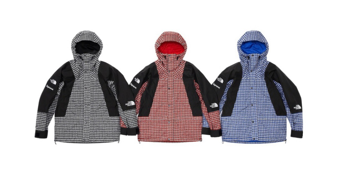 supreme 2021ss シュプリーム 2021春夏 week5 ノースフェイス Supreme®/The North Face® Studded Mountain Light Jacket