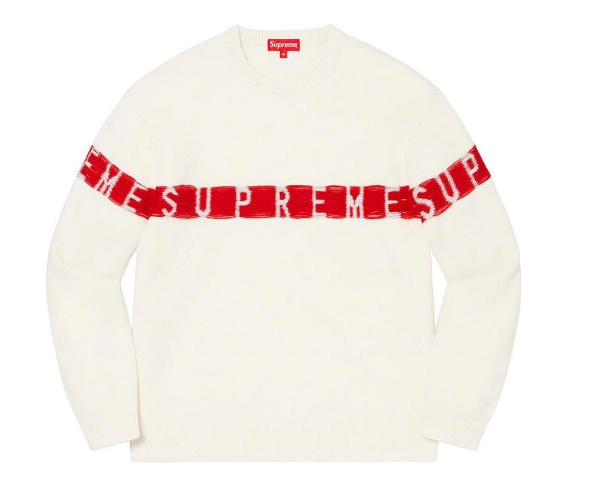 supreme 2021ss シュプリーム 2021春夏 week5 ノースフェイス Inside Out Logo Sweater