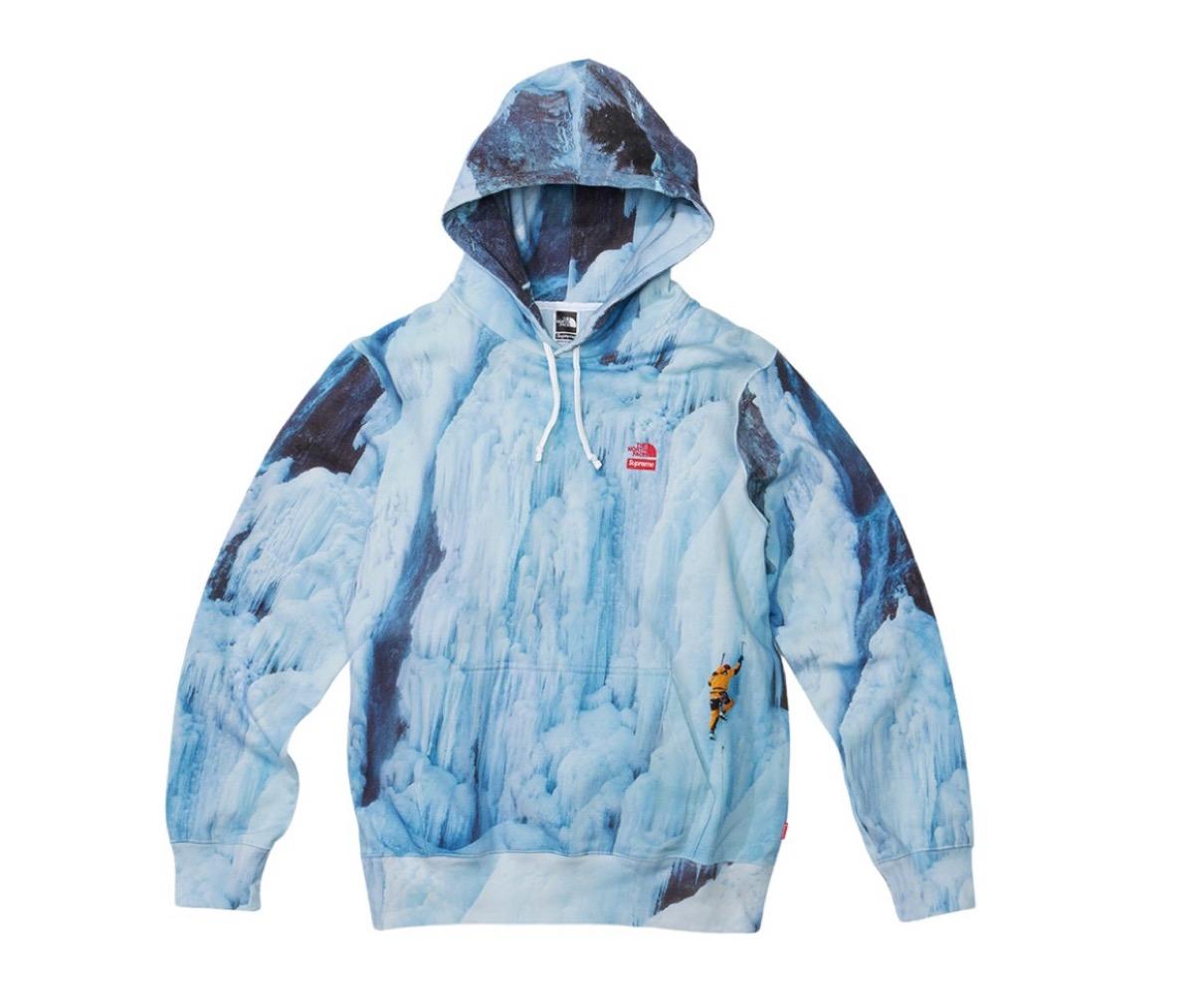 supreme 2021ss シュプリーム 2021春夏 week5 ノースフェイス Supreme®/The North Face® Ice Climb Hooded Sweatshirt