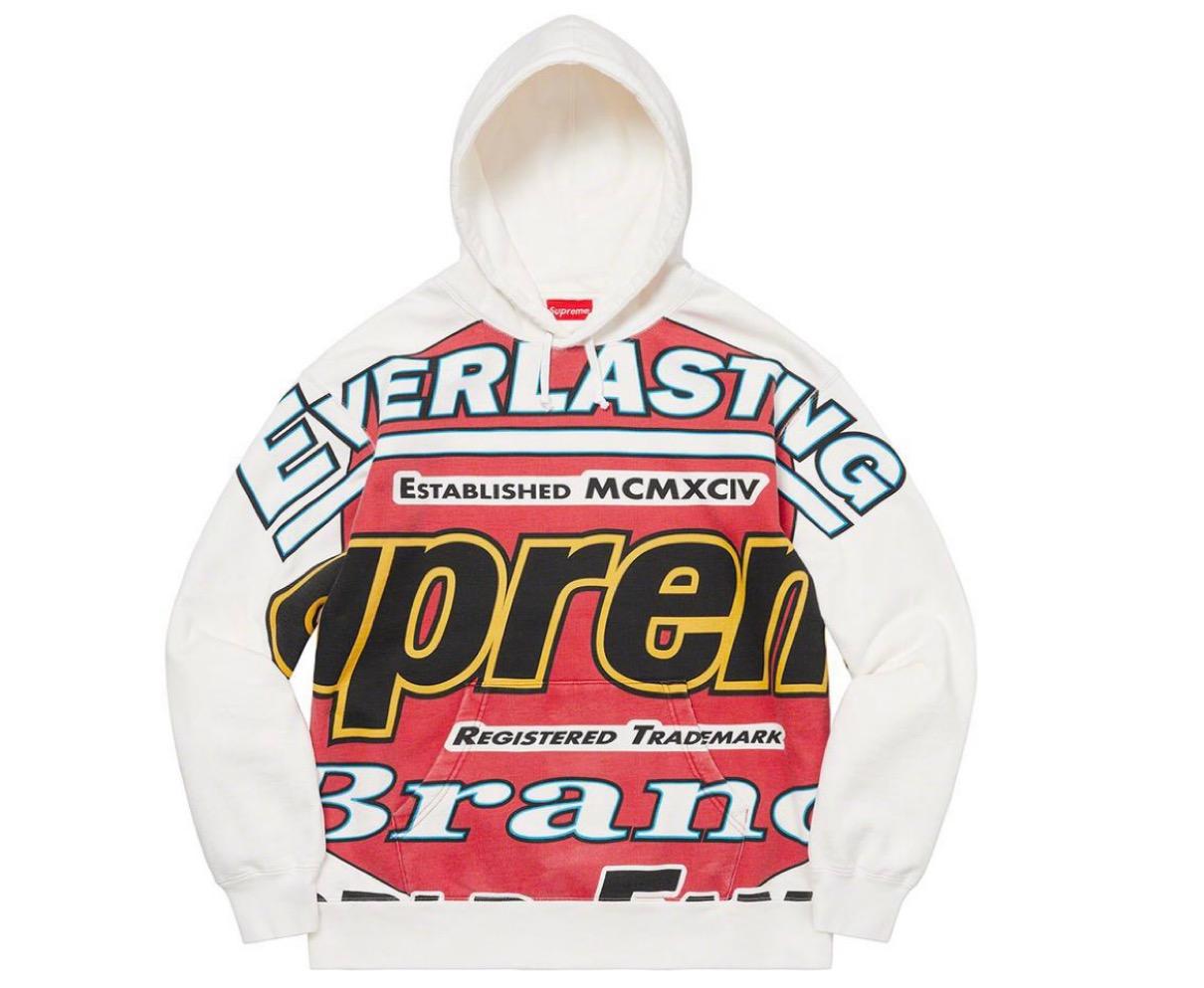 supreme 2021ss シュプリーム 2021春夏 week5 ノースフェイス Everlasting Hooded Sweatshirt
