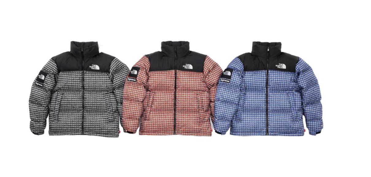 supreme 2021ss シュプリーム 2021春夏 week5 ノースフェイス the north face Supreme®/The North Face® Studded Nuptse Jacket