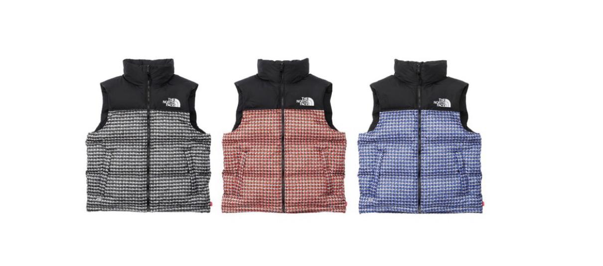 supreme 2021ss シュプリーム 2021春夏 week5 ノースフェイス Supreme®/The North Face® Studded Nuptse Vest