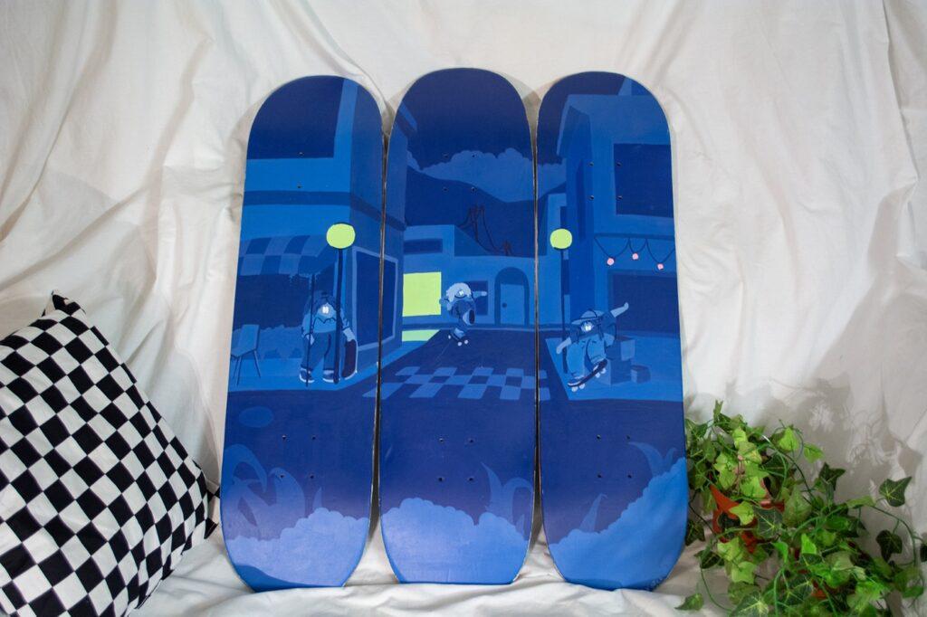 バンズ 国際女性デーにちなんがキャンペーン 2021_skateboard
