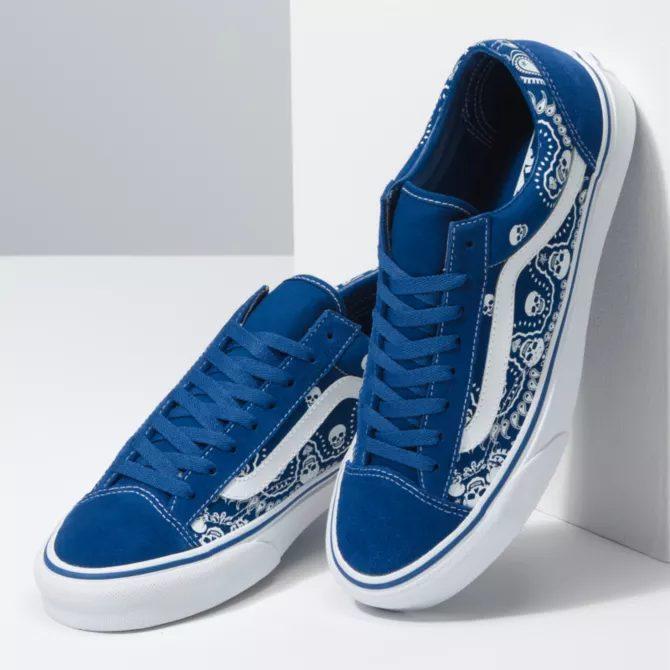 """ヴァンズ """"バンダナ"""" スタイル 36 vans-style-36-blue-look-2"""