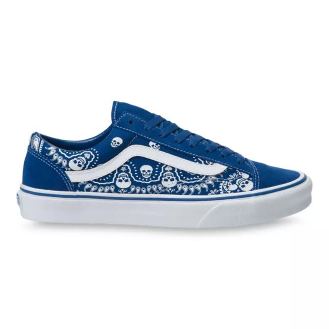 """ヴァンズ """"バンダナ"""" スタイル 36 vans-style-36-blue-side"""