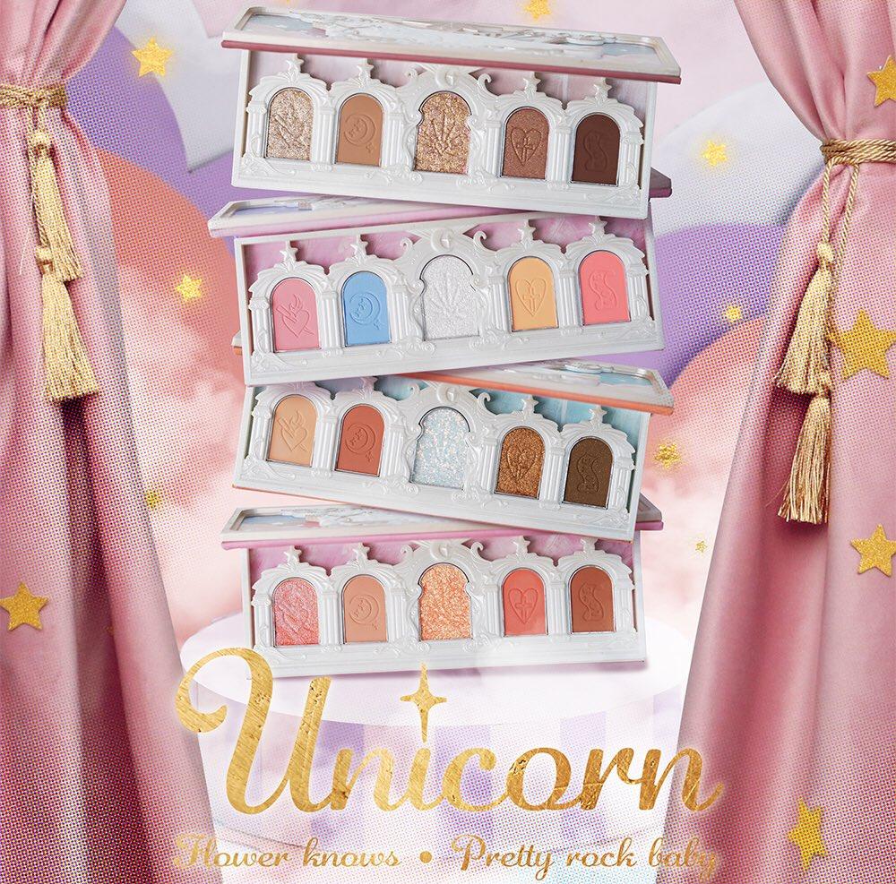 ユニコーンシリーズ「アイシャドウパレット」Flowerknows_Unicorn_eyeshadow