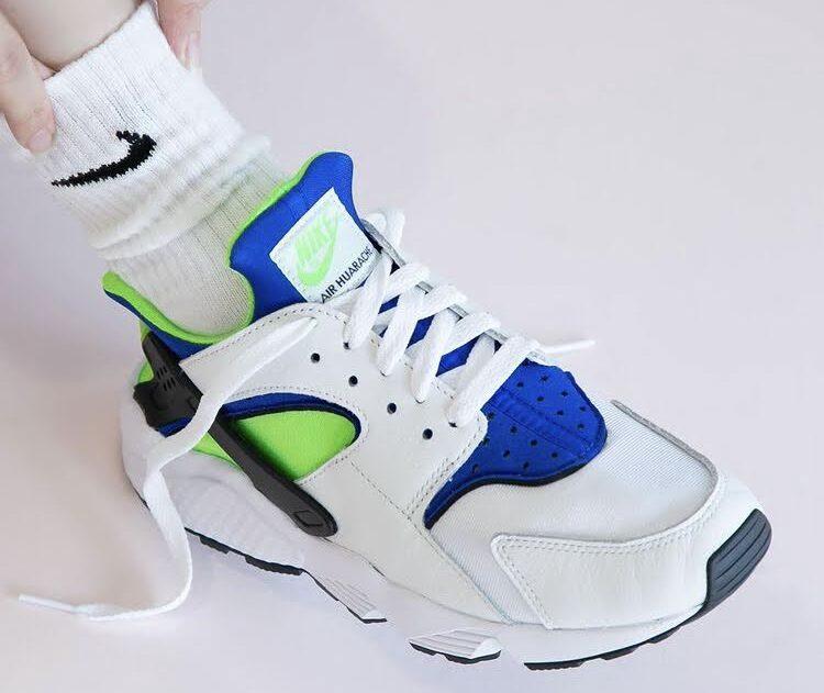 """Nike Air Huarache """"Scream Green"""" ナイキ エア ハラチ """"スクリーム グリーン"""""""