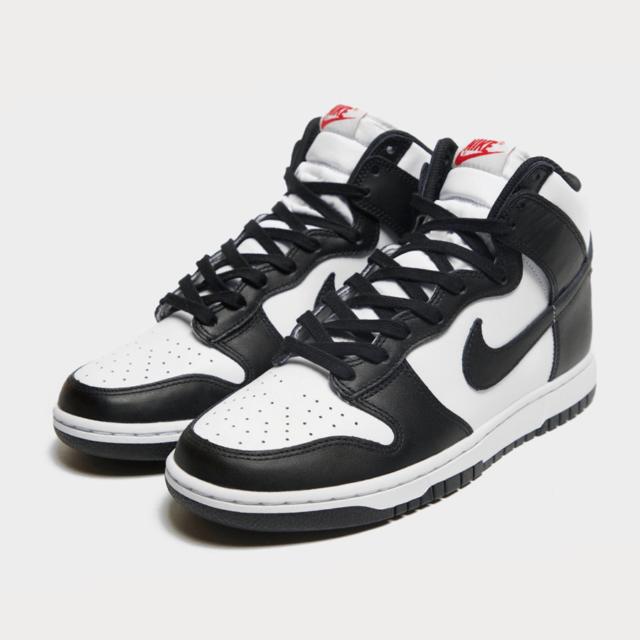 Nike Dunk High Black White ナイキ ダンク ハイ ブラック ホワイト White/Black-University Red DD1869-103