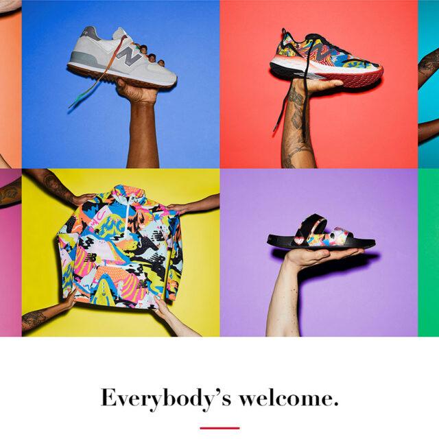 New Balance Pride Collection 2021 EVERYBODY'S WELCOME Pride Month ニューバランス プライド コレクション 2021年 エブリバディ イズ ウェルカム プライド月間