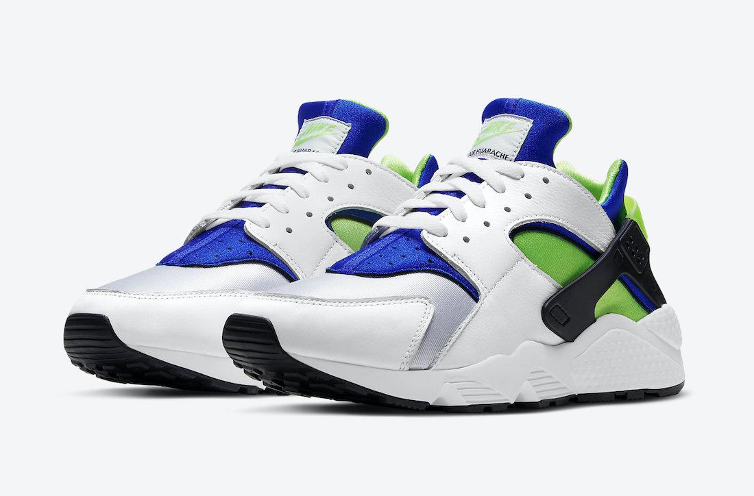 ナイキ エア ハラチ スクリーム グリーン 2021年 Nike-Air-Huarache-Scream-Green-DD1068-100-2021