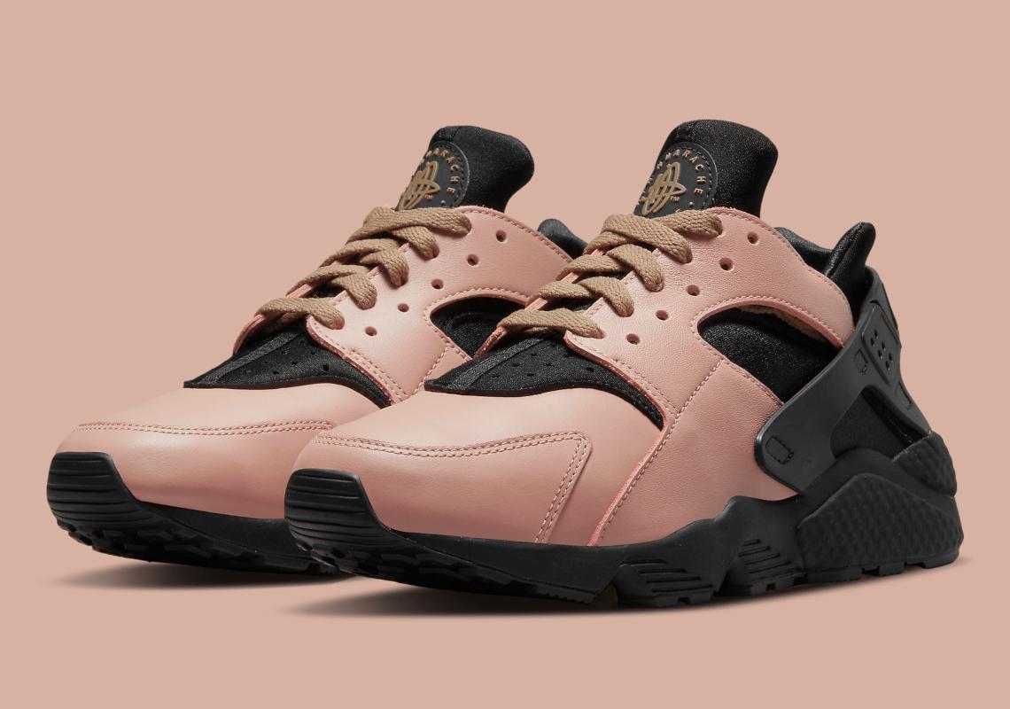 Nike-Air-Huarache-Toadstool-DH8143-200 Toadstool / Black-Chestnut Brown