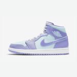 Nike Air Jordan 1 Mid Purple / Aqua-White ナイキ エアジョーダン 1 ミッド パープル/アクア-ホワイト 554724-500