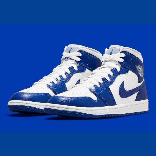 """ナイキ ウィメンズ エア ジョーダン 1 ミッド """"ケンタッキー ブルー"""" Nike-WMNS-Air-Jordan-1-Mid-Kentucky-Blue-BQ6472-104-eyecatch"""