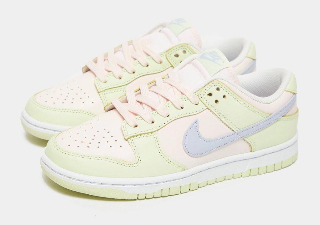 """7月14日発売【Nike WMNS Dunk Low """"Light Soft Pink""""】"""
