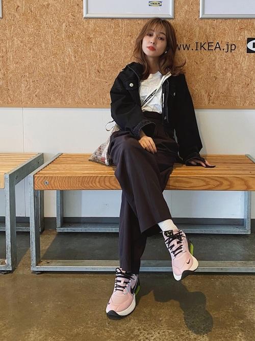 抜け感ラクチンコーデ about-nike-air-max-verona-style-relaxing-look