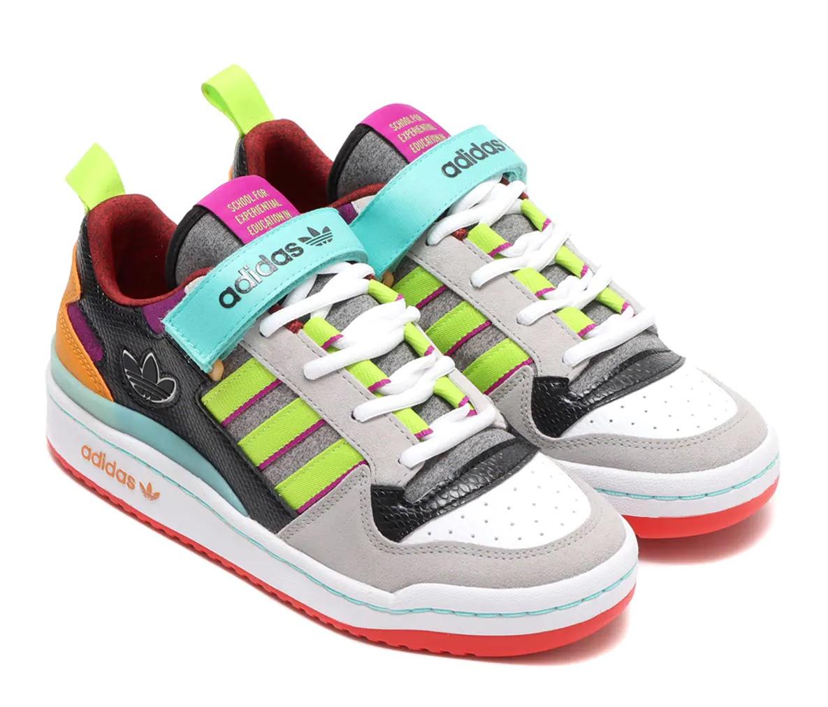 adidas FORUM LOW W SONIC FUCHSIA/PINK TINT/ACID MINT